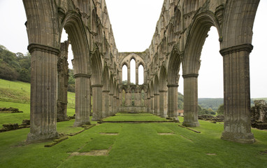 Rievaulx Abbey Archway Ruins