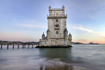 Tower of Belem, located in Lisbon, Portugal.