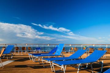 Entspannung auf dem Meer