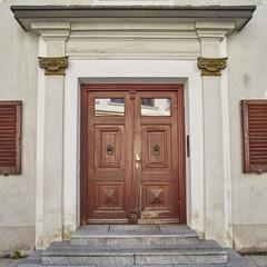 elegant house door, Munchen, Germany