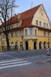 Leinwandbild Motiv house   in Klaipeda