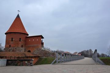 Kaunas, Lithuanian - November, 17, 2014: views of the old town i