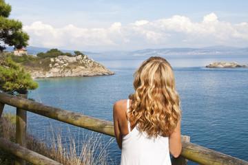cies natural park islands, Galicia, Spain