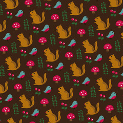 chipmunk pattern
