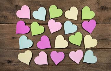 Grußkarte für die Liebe: Valentinstag oder Freundschaft