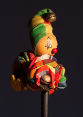 Wooden Clown