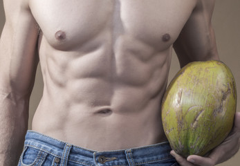 Coconut and abs
