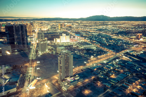 Fotobehang Las Vegas Las Vegas cityscape