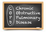 Fototapety Blackboard COPD