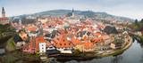 Cesky Krumlov panorama - 74556190