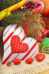 Love sweet heart shaped chocolates candies