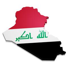 Map Iraq