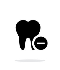 Remove tooth icon.