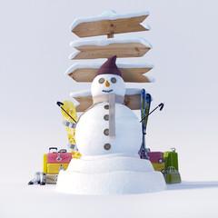 Snow fun trip