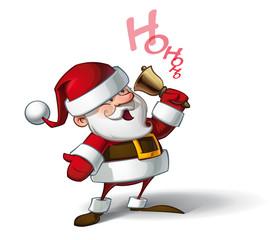 Smilling Santa - Ho Ho Ho.