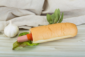 French hot dog