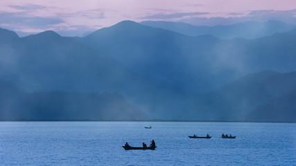 Fewa Lake Pokhara Nepa