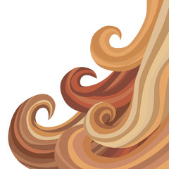 Female Flowing Hair