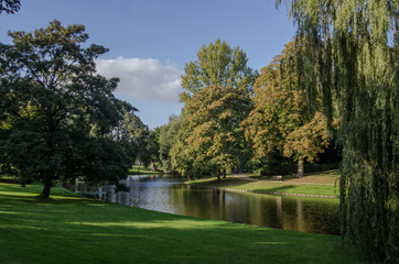 Park in Groningen, Netherlands