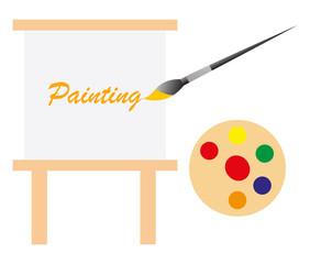Painting art board