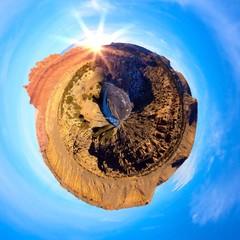 A sunny day in the Utah desert