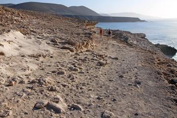 Ajuy beach Fuerteventura Canary islands Spain