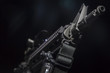 Leinwandbild Motiv AR-15 Gun