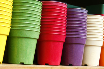 Flowerpots - Plastic flower pots
