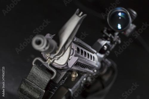 canvas print picture AR-15 Gun