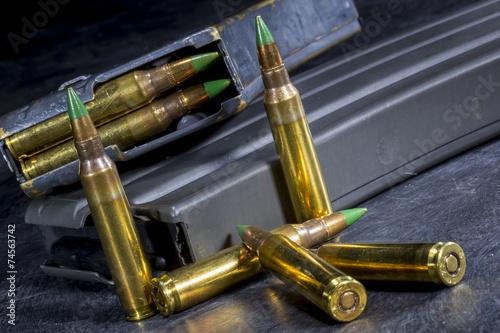 Foto op Canvas Jacht AR-15 Ammo