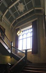 Interior Kylemore Abbey.