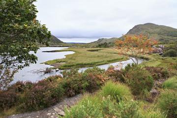Beautiful Upper Lake in Killarney National Park.