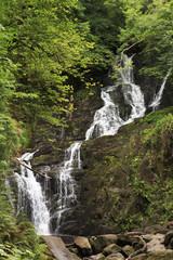 Torc Waterfall in Killarney National Park.