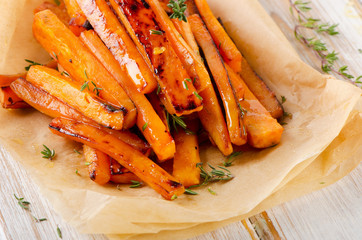 sweet potato  with  herbs .