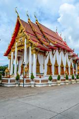 Temple in Phuket, Thailand