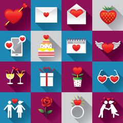 Icons Set : Love Objects