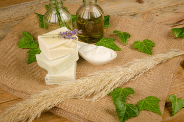Natural soap and moisturizer