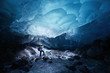 ice cave in alaska - 74570929