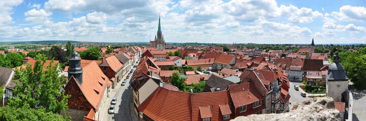 Panoramafoto Mühlhausen