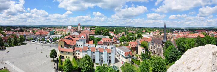 Mühlhausen - Blick von der Wehranlage