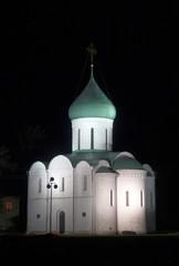 White  Savior Cathedral.  Pereslavl Zalessky,Yaroslavl,Russia