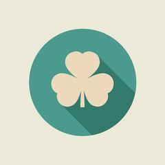 Clover leaf icon.
