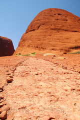 Kata Tjuta in Australian outback