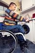 Waschen mit Handicap