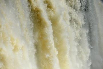 Iguazu water flow