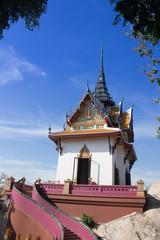 Mondop on the hill at Wat Phra Phutthachai, Meuang, Saraburi