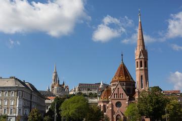 Budapest skyliine