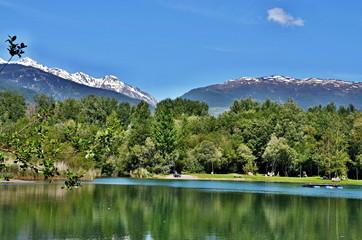 Italian Alps-Nationalpark Stilfser Joch and Angelsee