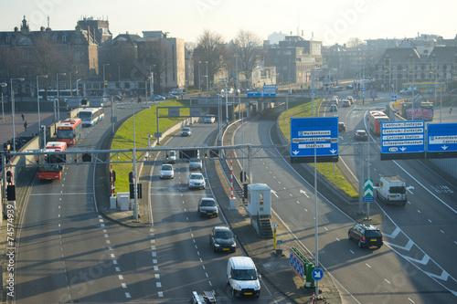 Plexiglas Amsterdam Amsterdam highway