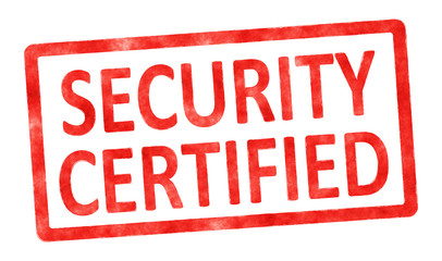 stamp security certified